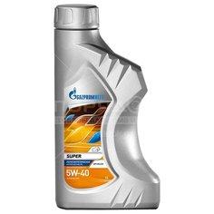 Масло моторное полусинтетическое 5W40 Gazpromneft Super, 1 л