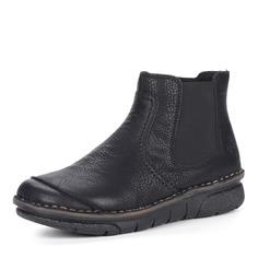 Ботинки Черные челси на комфортной подошве Rieker