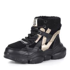 Ботинки Черные ботинки из комбинированных материалов в спортивном стиле Respect