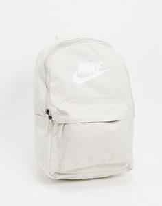 Кремовый рюкзак с логотипом Nike-Белый