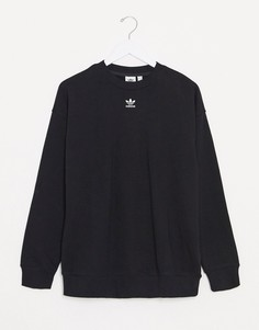 Черный свитшот adidas Originals Essentials