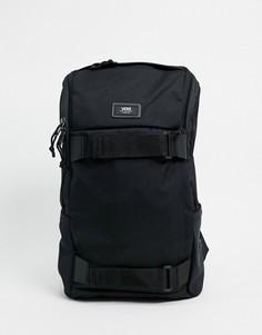 Черный рюкзак для скейтборда из ткани рипстоп Vans