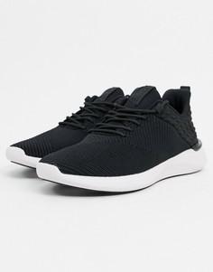 Черные трикотажные кроссовки ALDO-Черный