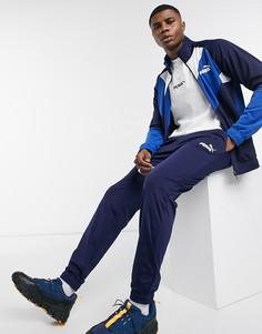 Спортивный костюм в стиле ретро Puma-Синий