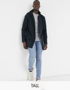 Темно-синяя куртка с воротником-стойкойFrench Connection-Темно-синий