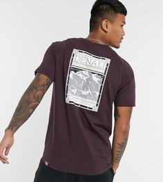 Бордовая футболка The North Face эксклюзивно на ASOS-Коричневый