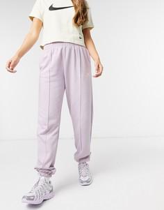 Фиолетовые джоггеры oversized с логотипом металлик Nike-Фиолетовый