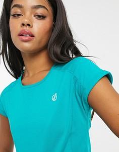 Зеленая футболка с короткими рукавами Dare 2b Wondered-Зеленый