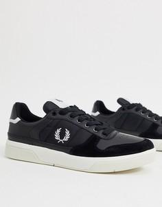 Черные кроссовки Fred Perry-Черный