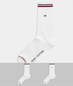 Набор из 2 пар белых носков Tommy Hilfiger-Мульти