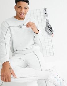 Серый свитшот adidas Originals RYV