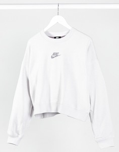 Светло-серый свитшот Nike Move To Zero