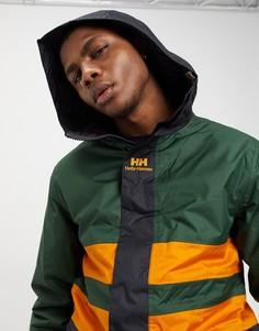 Зеленая куртка-дождевикHelly Hansen-Мульти