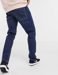 Синие джинсы прямого кроя Wrangler-Синий