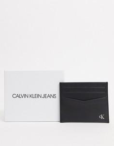 Черная визитница Calvin Klein Jeans-Черный