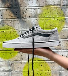 Серые/белые кроссовки Vans Ward-Серый