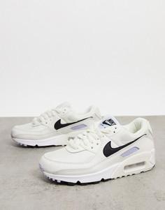 Светлые кроссовки Nike Air Max 90-Белый