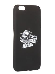 Чехол Krutoff для APPLE iPhone 6/6S Plus Blitz Heavy Metal 1 10312