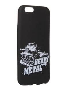 Чехол Krutoff для APPLE iPhone 6/6S Blitz Heavy Metal 2 10323