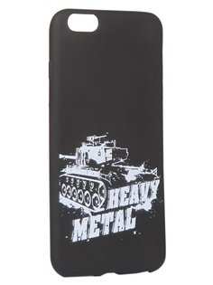 Чехол Krutoff для APPLE iPhone 6/6S Plus Blitz Heavy Metal 2 10313