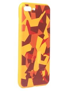 Чехол Krutoff для APPLE iPhone 7/8 Plus Polygonal Military Colour 10337