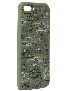 Чехол Krutoff для APPLE iPhone 7/8 Plus Pixel Military Desert 10336