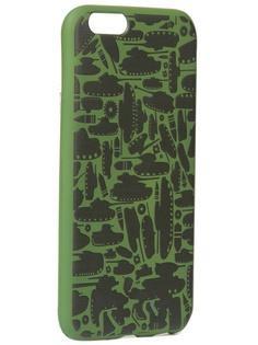 Чехол Krutoff для APPLE iPhone 6/6S Technics Military Green 10333