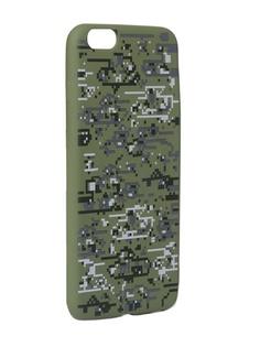 Чехол Krutoff для APPLE iPhone 6/6S Plus Pixel Military Desert 10319