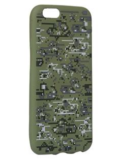 Чехол Krutoff для APPLE iPhone 6/6S Pixel Military Desert 10329