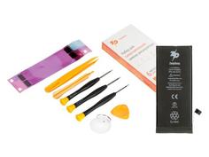 Инструмент для самостоятельного ремонта телефона ZeepDeep Аккумулятор для APPLE iPhone 8 + набор инструментов+клеевые полоски+пошаговая инструкция 753512