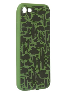 Чехол Krutoff для APPLE iPhone 7/8 Technics Military Green 10344