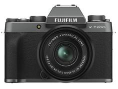 Фотоаппарат Fujifilm X-T200 Kit 15-45mm Dark Silver