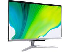Моноблок Acer Aspire C24-963 Silver DQ.BERER.002 (Intel Core i5-1035G1 1.0 GHz/8192Mb/256Gb SSD/Intel HD Graphics/Wi-Fi/Bluetooth/23.8/1920x1080/Windows 10 Home 64-bit)