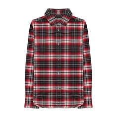 Хлопковая рубашка Neil Barrett Kids
