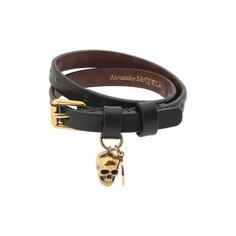 Кожаный браслет Alexander McQueen