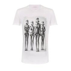 Хлопковая футболка Bisibiglio