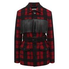 Шерстяная куртка Saint Laurent