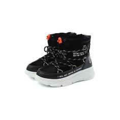 Текстильные ботинки F_WD