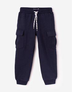 Синие брюки-карго для мальчика Gloria Jeans
