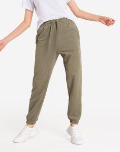 Спортивные брюки хаки Gloria Jeans