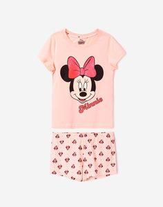 Пижама с рисунками DISNEY для девочки Gloria Jeans