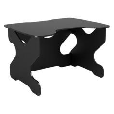 Стол игровой ВИТАЛ-ПК Ивент, ЛДСП, черный