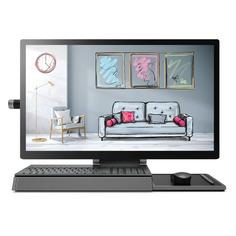 "Моноблок LENOVO Yoga A940-27ICB, 27"", Intel Core i7 9700, 16ГБ, 1000ГБ, 256ГБ SSD, AMD Radeon RX 560 - 4096 Мб, Windows 10 Home, темно-серый [f0e50029rk]"