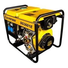 Дизельный генератор CHAMPION DG3601E, 230 В, 3кВт