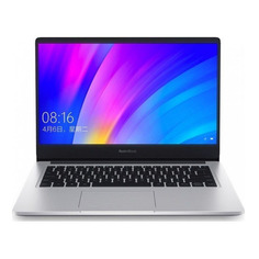 "Ноутбук XIAOMI Mi RedmiBook, 14"", IPS, Intel Core i5 10210U 1.6ГГц, 8ГБ, 512ГБ SSD, NVIDIA GeForce MX250 - 2048 Мб, Free DOS, XMA1901-DG-DOS, серебристый"