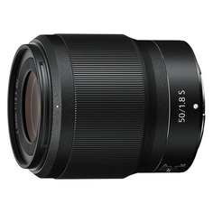 Объективы для фотоаппаратов Объектив NIKON 50mm f/1.8 NIKKOR Z, Nikon Z, черный [jma001da]