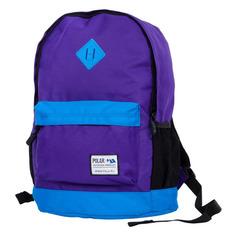 Рюкзак Polar 15008 (15008 PURPLE-BLUE) 29x43x18см 22.5л. 0.5кг. полиэстер/нейлон фиолетовый