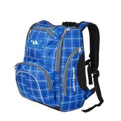 "Рюкзаки, чемоданы, сумки Рюкзак Polar П3065А-04 ""ERGO-COMFORT"" (П3065А-04 СИНИЙ) 28x40x17см 19л. 1.08кг. полиэстер/нейлон син"
