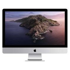 "Моноблок APPLE iMac MXWT2RU/A, 27"", Intel Core i5, 8ГБ, 256ГБ SSD, AMD Radeon Pro 5300 - 4096 Мб, macOS, серебристый и черный"