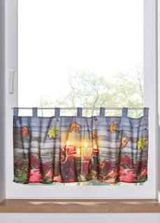 Короткие шторы Занавеска с подсветкой Bonprix
